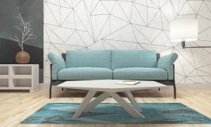 Modern Design Of Living Room (3d Render)